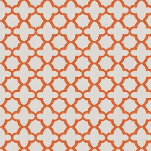 Stroheim Bombay Orange Fabric - Fabric