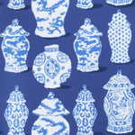 Stroheim Canton Cobalt Blue Wallpaper