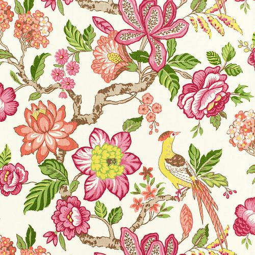 Schumacher Huntington Gardens Multi Fabric - Fabric