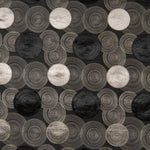 Kasmir Concentric Black Fabric