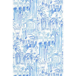 Lee Jofa La Via Loca Beach Blue Wallpaper