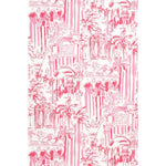 Lee Jofa La Via Loca Hotty Pink Wallpaper