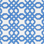 Lee Jofa Well Connected Bright Navy Wallpaper