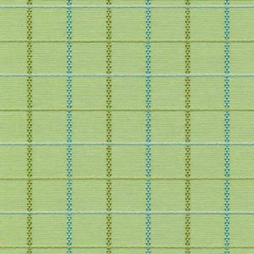 Kasmir Connick Check Aloe Fabric - Fabric
