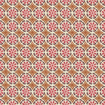 Groundworks Daisy Daisy Pink/Clay Fabric