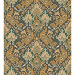 Cole & Son Pushkin Ginger & Charcaol Wallpaper