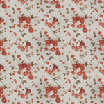 Fabricut Sway Floral Coral Fabric