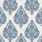 Fabricut Meta Medallion Blue Fabric