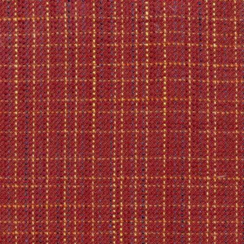 Kasmir Double Cross Claret Fabric - Fabric