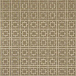 Kasmir Dynasty Fret Tan Fabric