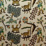 Old World Weavers Fables (Jawahar Crewel) Blue/Multi Fabric