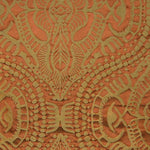 Old World Weavers Ethnic Damask (40Yd Min) Rust Fabric