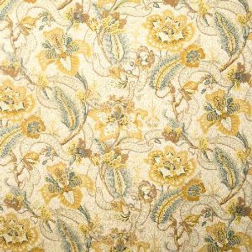 Vervain Fleur Exotique Maize Fabric - Fabric