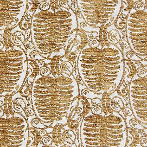 Old World Weavers Veneto Pine Gold Fabric - Fabric