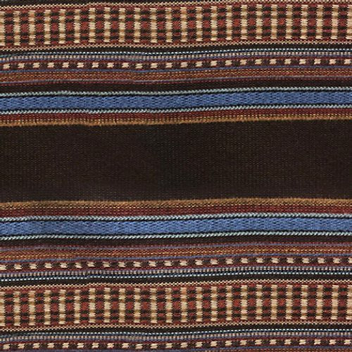 Old World Weavers Steinbeck Chocolate Fabric - Fabric