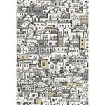Cole & Son Mediterranea White & Metallic Wallpaper
