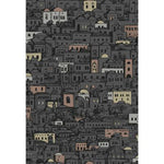 Cole & Son Mediterranea Charcoal & Metallic Wallpaper