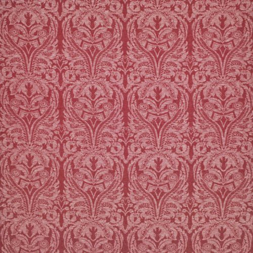 Ralph Lauren Standish Damask Rouge Fabric - Fabric