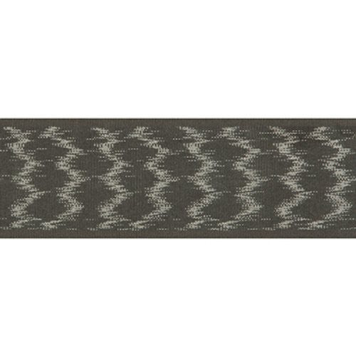 Kravet Watermark Tape Charcoal Trim - Trim
