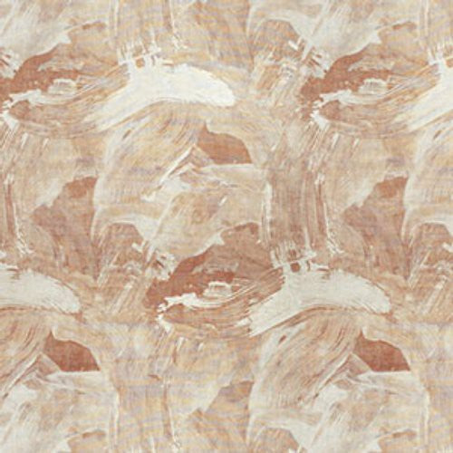 S. Harris Helen On Linen Sienna Gold Fabric - Fabric