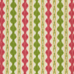 Brunschwig & Fils Avera Print Red/Green Fabric