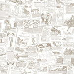 Norwall Newspaper Fh37500 Wallpaper