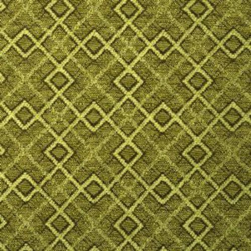 Fabricut Polygon Mint Mocha Fabric - Fabric