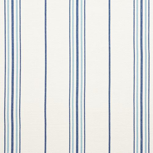 Schumacher Scarset Stripe Blues Fabric - Fabric