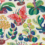 Schumacher Exotic Butterfly Spring Fabric