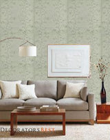 Ralph Lauren Meadowlane Embroider Mist Wallpaper