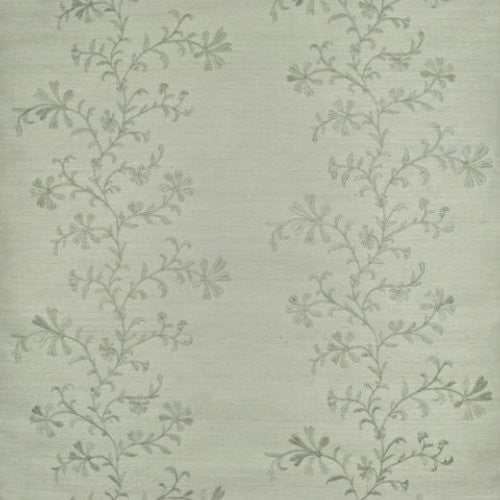Ralph Lauren Meadowlane Embroider Mist Wallpaper - Wallpaper