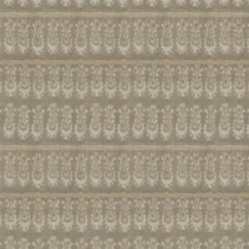 S. Harris Batik Tribal White Sand Fabric - Fabric