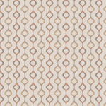 Fabricut Capital Ogee Coral Fabric