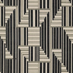 Groundworks Cuboid Velvet Onyx/Lead Fabric