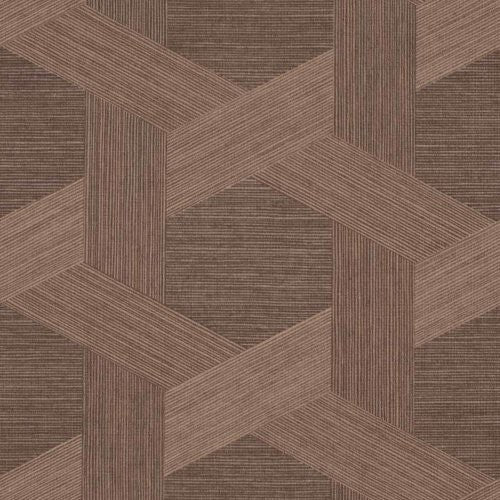 Phillip Jeffries Vinyl Woven Sisal Rich Umber Wallpaper