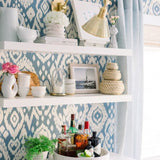 Trend 30002W Medium Blue 03 Wallpaper
