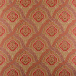 Old World Weavers Antonova Red/Neutral Fabric