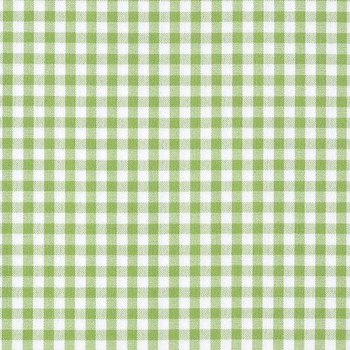 Old World Weavers Poker Check Lime Fabric - Fabric