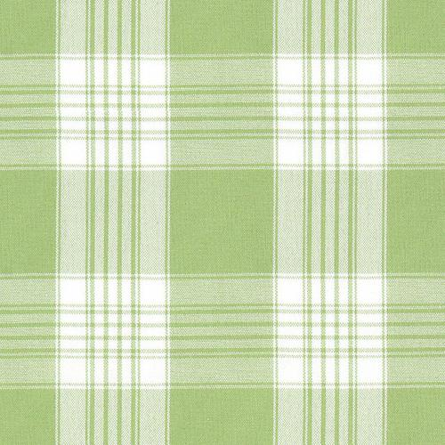 Old World Weavers Poker Plaid Lime Fabric - Fabric