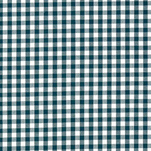 Old World Weavers Poker Check Forest Fabric - Fabric