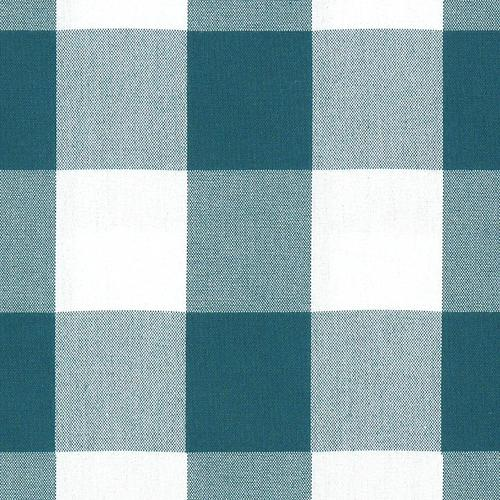Old World Weavers Poker Large Plaid Forest Fabric - Fabric