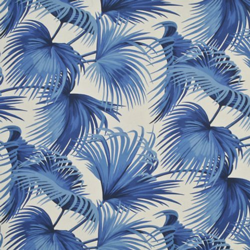 Ralph Lauren Costa Tropica Palm Ultramarine Fabric - Fabric