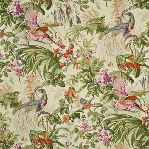 Ralph Lauren Sanctuary Floral Coconut Fabric - Fabric