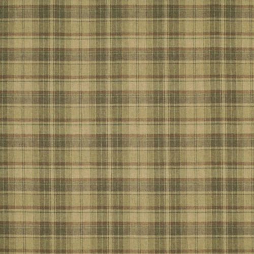 Ralph Lauren Eliott Plaid Teak Fabric - Fabric
