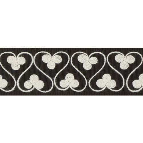 Schumacher Coquette Tape Black Trim - Trim