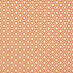 Schumacher Queen B Orange Fabric