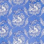 Brunschwig & Fils The Hunting Toile Blue Fabric