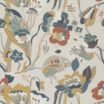 G P & J Baker California Teal/Ochre Wallpaper