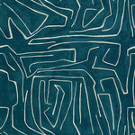 Groundworks Graffito Teal/Pearl Fabric