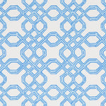 Lee Jofa Well Connected Tide Blue Wallpaper